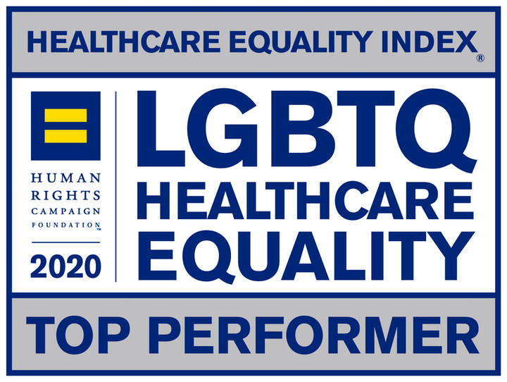 2020 LGBTQ Healthcare Equality Top Performer