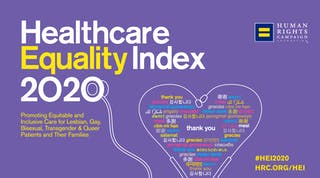 Human Rights Campaign's 2020 Healthcare Equality Index cover image