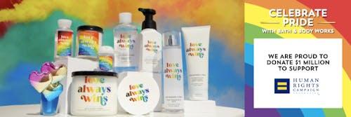 Bath & Body Works Pride Partnership