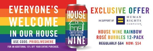 House Wines Banner pride