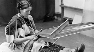 We-Wa, a Zuni berdache crafting