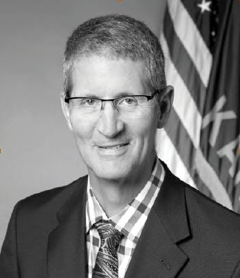 Headshot of the Mayor of Kansas, Carl Gerlach