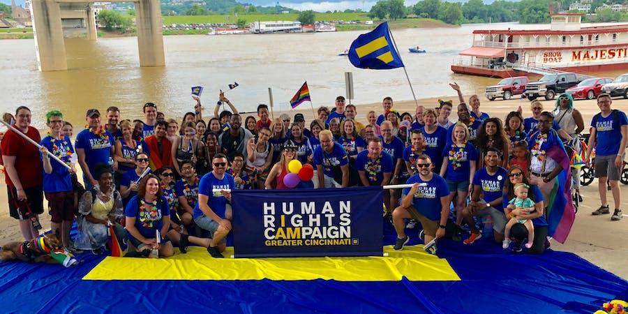 Volunteers with HRC's Cincinnati Steering Committee