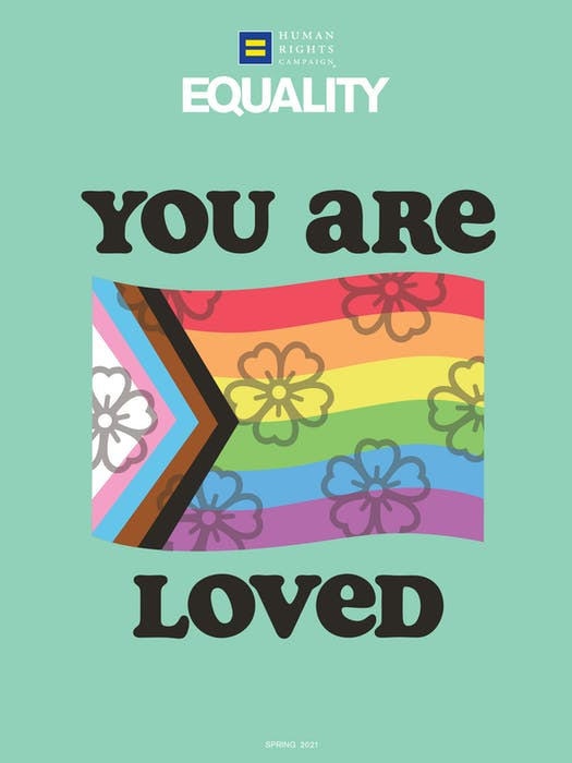 Equality Magazine Cover