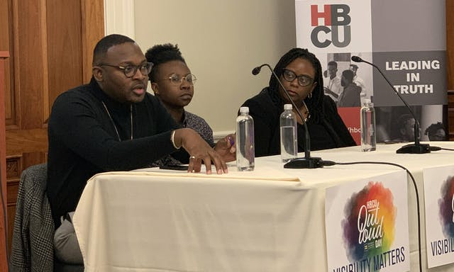#HBCUOutLoudDay Congressional Briefing Panel Discussion with J.Maurice McCant-Pearsall, Keo O'Neal, and Dr. Kiesha Michaels