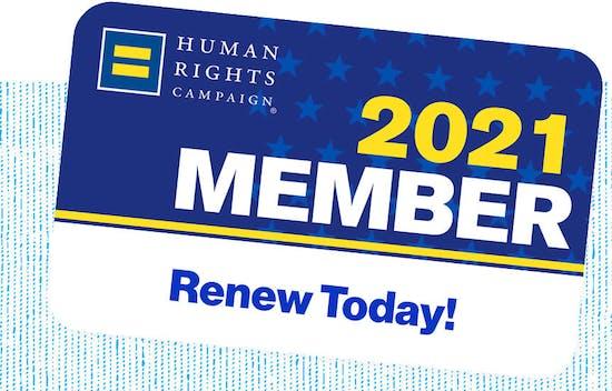 HRC 2021 Membership Card. Renew Today!