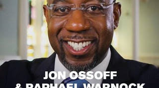 Jon Ossoff and Raphael Warnock for George Senate