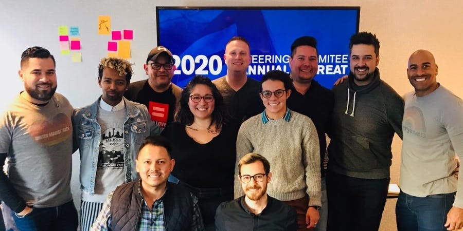 11 members of HRC's San Antonio Steering Committee