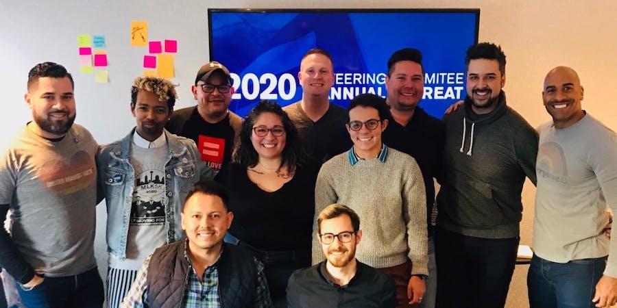 11 members of HRC's San Antonio Steering Committee
