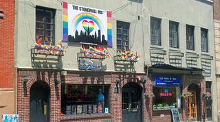 Stonewall Inn, the site of the uprising that sparked the modern day LGBTQ rights movement